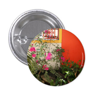 Belizian Blooms Button
