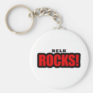 Belk, Alabama City Design Keychain