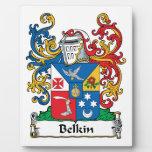 Belkin Family Crest Photo Plaques