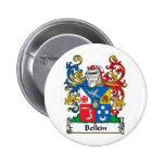 Belkin Family Crest Pinback Buttons