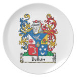 Belkin Family Crest Plates