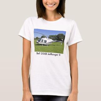 Bell 206B JetRanger II Helicopter T-shirt