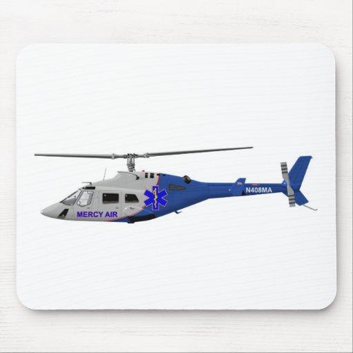 Bell 230 el ccsme alfombrillas de ratón