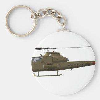 Bell AH-1G Cobra 1st Cav Keychain