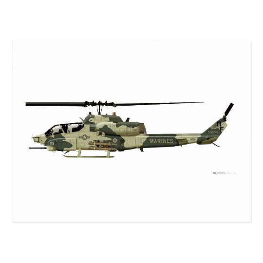 Bell AH-1W Super Cobra Postcard