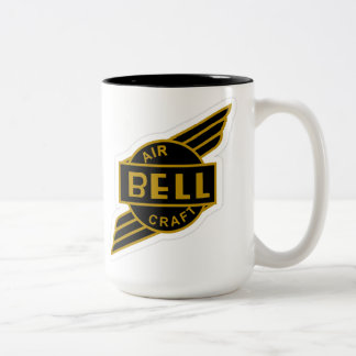 Bell Aircraft Two-Tone Coffee Mug