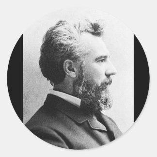 Bell ~ Alexander Graham / Inventor Educator Classic Round Sticker