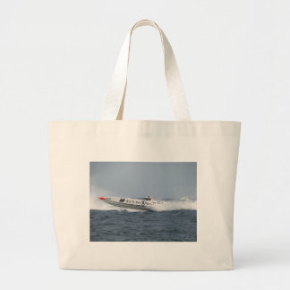 Bell and Ross Powerboat. Large Tote Bag