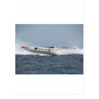 Bell and Ross Powerboat. Postcard