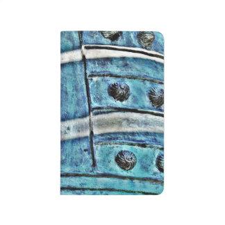 Bell azul abstracta cuadernos