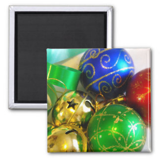 Bell, Balls and Ribbons Magnet
