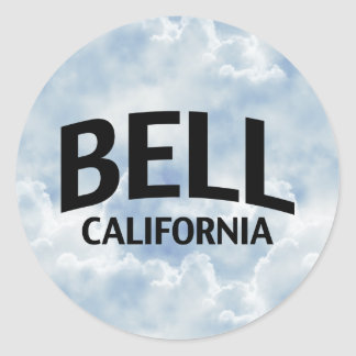 Bell California Classic Round Sticker
