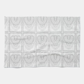 Bell chime kitchen towel