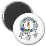 Bell Clan Badge Fridge Magnet