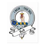 Bell Clan Badge Postcard