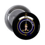Bell - Clan Crest Pinback Button