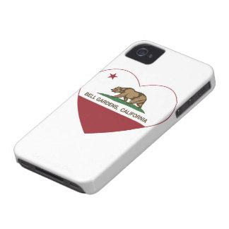 Bell cultiva un huerto corazón de California iPhone 4 Carcasas