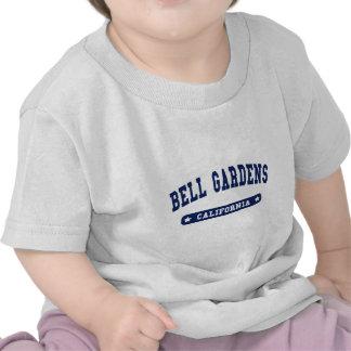Bell cultiva un huerto las camisetas del estilo de