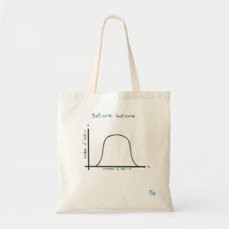 Bell curve bell curve bag