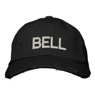 BELL (EMBROIDERED CUSTOMIZE) EMBROIDERED BASEBALL HAT