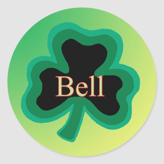 Bell Family Classic Round Sticker