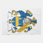 Bell Family Crest Hand Towel
