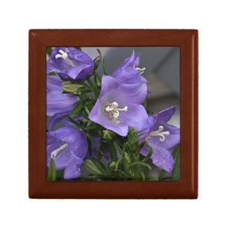 Bell flower photo jewelry box