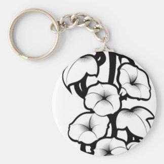 Bell Flower Tribal Keychain
