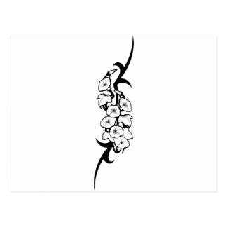 Bell Flower Tribal Postcard