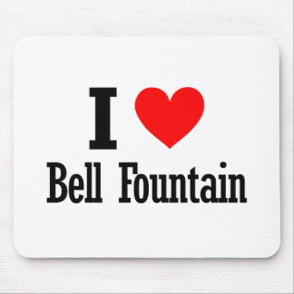 Bell Fountain, Alabama City Design Mouse Pad