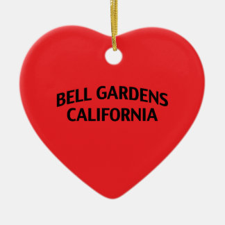 Bell Gardens California Ceramic Ornament