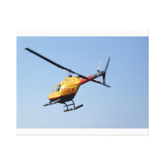 Bell Helicopter Stretched Canvas Print