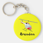 Bell helicopter key chain