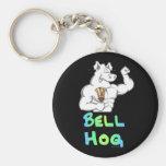 Bell Hog Key Chain