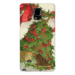 Bell Holly Red Ribbon Berry Garland Galaxy Note 4 Case