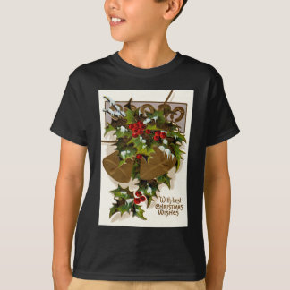 Bell Holly Snow Gold Horseshoe T-Shirt