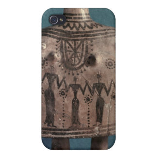 Bell idol, from Thebes, Boeotia, c.700 BC Case For iPhone 4