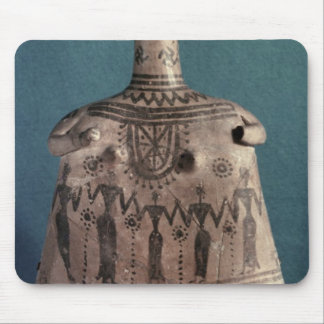 Bell idol, from Thebes, Boeotia, c.700 BC Mouse Pad