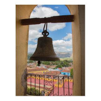 Bell in a church tower, Cuba Postcard