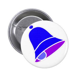 Bell Inv azul 45 grados los regalos de Zazzle del  Pin