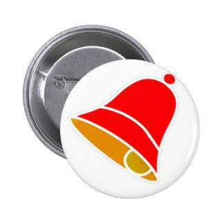 Bell Inv izquierdo rojo 45 grados los regalos de Z Pins