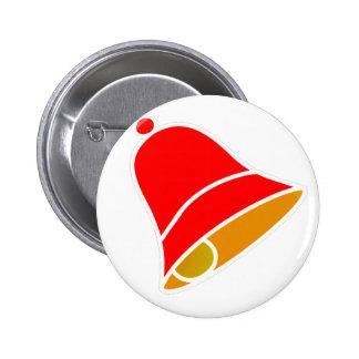 Bell Inv rojo 45 grados los regalos de Zazzle del  Pin