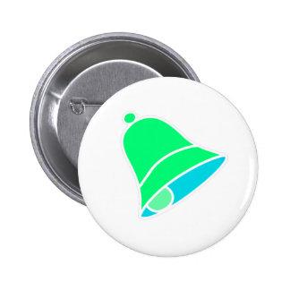Bell Inv verde 45 grados los regalos de Zazzle del Pin