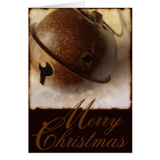 Bell Merry Christmas Card