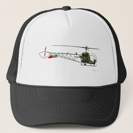Bell OH-13 Sioux Trucker Hat