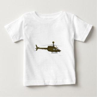 Bell OH-58 Kiowa Warrior Baby T-Shirt