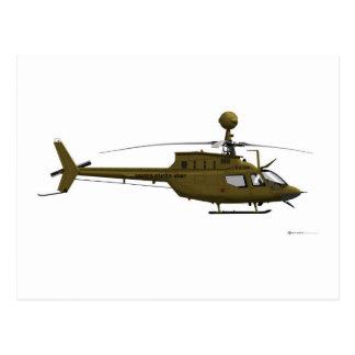 Bell OH-58 Kiowa Warrior Postcard