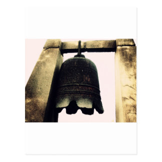 Bell On Ancient City Wall Postcard