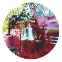 Bell on Fire Engine sticker