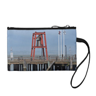 Bell on wharf coin wallet